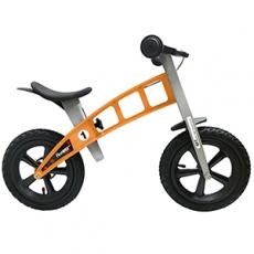 【FirstBike】德國高品質設計 寓教於樂-兒童滑步車/學步車(越野橘)