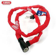 ABUS 德國防盜鎖 1500 web Key Chain 110cm單車鑰匙鎖-紅