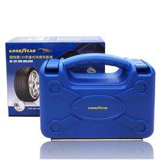 固特異12V手提式快速充氣機 (汽車 道路救援 輪胎 打氣機)-app限定