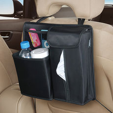 【日本SEIWA】多功能後座置物袋W625 (汽車︱收納︱面紙盒套︱垃圾桶)