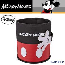【NAPOLEXx迪士尼】米奇圓型垃圾桶WD284 (汽車︱收納置物︱面紙盒)
