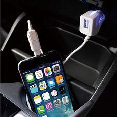 【日本槌屋YAC】Apple Lightning-MicroUSB轉換充電線_附USB充電器 (TP-194)