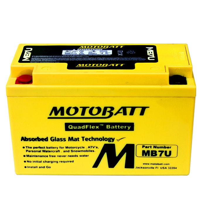 【美國MOTOBATT】MB7U AGM強效機車電池/電瓶
