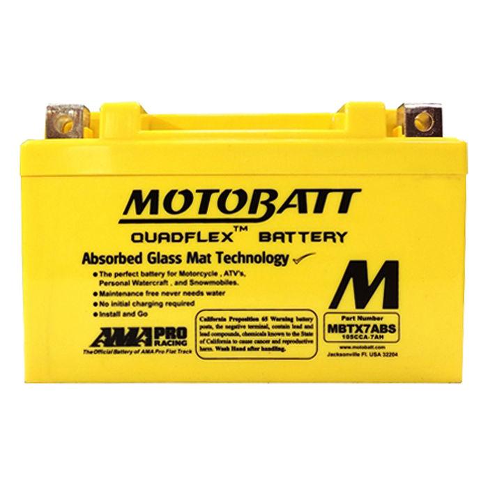 【美國MOTOBATT】MBTX7ABS AGM強效機車電池/電瓶