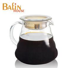 【Bafin House】雲朵耐熱玻璃咖啡壺650ml