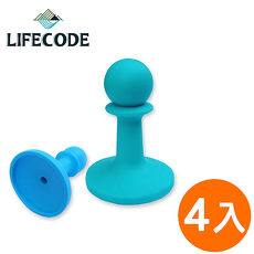 【LIFECODE】小騎兵多彩營柱防雷帽-4入(顏色隨機)