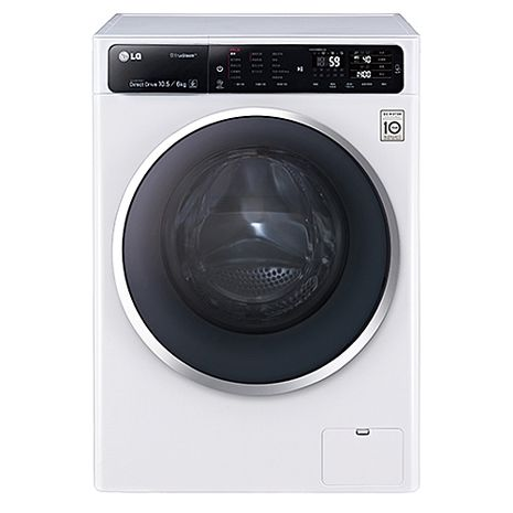 (結帳驚喜價)LG 樂金 10.5KG 蒸氣滾筒洗衣機 (F1450HT1W)