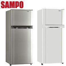 SAMPO 聲寶455公升定頻節能冰箱 SR-M46G(W2)(S2)銀色系(S2)