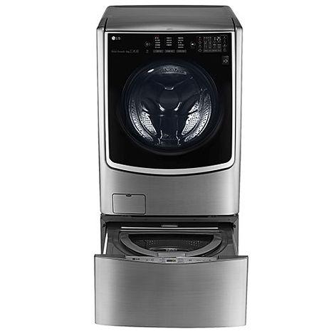 LG樂金21公斤+下層2.5公斤滾筒洗脫烘洗衣機F2721HTTV+WT-D250HV