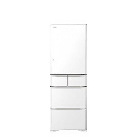 送陶板屋餐券4張★日立 501公升五門(與RG500GJ同款)冰箱XW琉璃白RG500GJXW