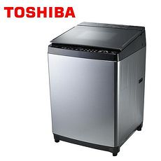 TOSHIBA東芝 鍍膜勁流雙渦輪超變頻15公斤洗衣機 AW-DMG15WAG