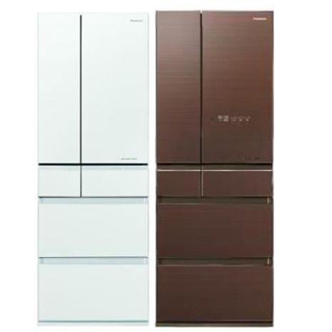 Panasonic國際牌【NR-F504HX-W1/NR-F504HX-T1】500公升六門變頻電冰箱(不參加原廠贈品活動)翡翠棕