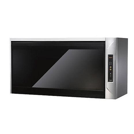 (全省原廠安裝)莊頭北TD-3205G-80CM 80公分臭氧殺菌紫外線筷架懸掛式烘碗機黑玻璃