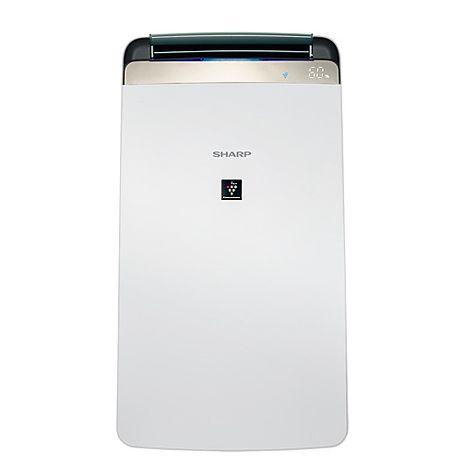 SHARP 夏普 10L新衣物乾燥HEPA空氣淨化除濕機 DW-J10FT-W(除濕機特賣)