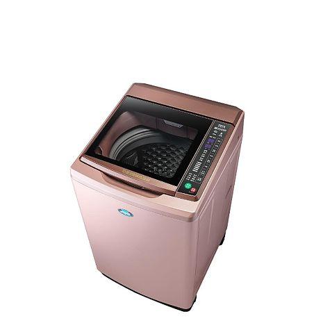 台灣三洋SANLUX 15公斤全玻璃觸控洗衣機玫瑰金 SW-15DAG-D