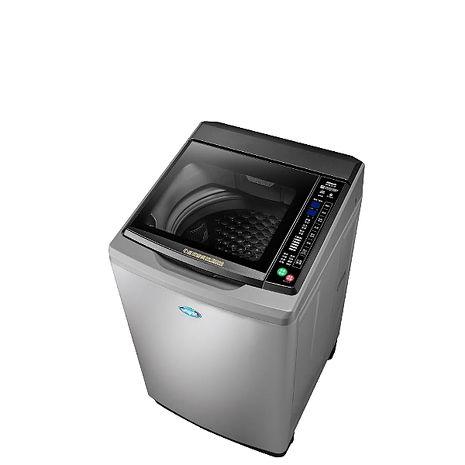 台灣三洋SANLUX 15公斤全玻璃觸控洗衣機時尚灰 SW-15DAG-M【預購】