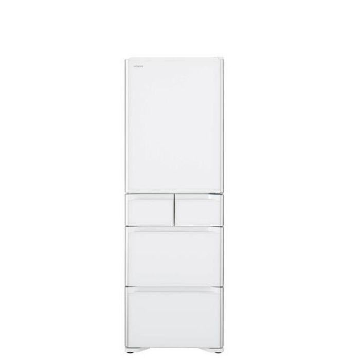 (結帳驚喜價)(結帳驚喜價)日立407公升五門(與RSG420J同款)冰箱星燦白RSG420JXW