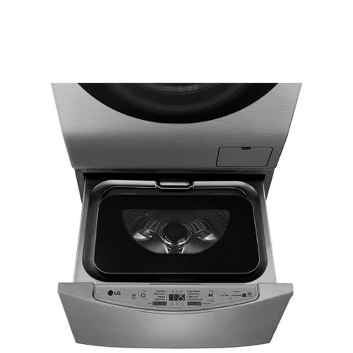 送陶板屋餐券1張★LG樂金不鏽鋼銀色下層2KG溫水洗衣機WT-D200HV