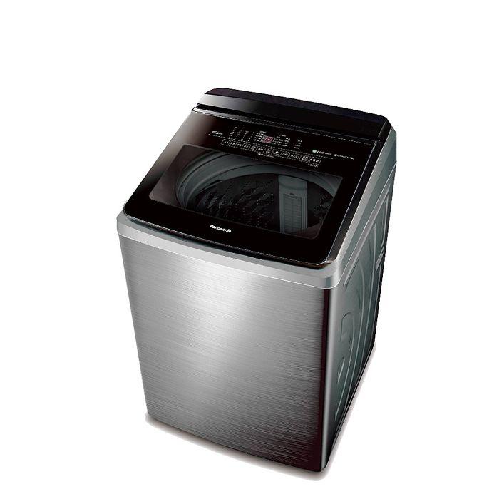 Panasonic國際牌22公斤變頻洗衣機NA-V220KBS-S(洗衣機特賣)