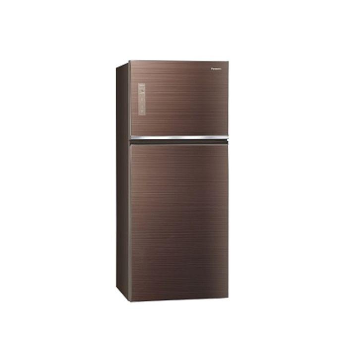 Panasonic國際牌422公升雙門變頻冰箱翡翠棕NR-B429TG-T