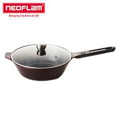【韓國NEOFLAM】My Pan系列28cm炒鍋(含玻璃蓋)