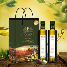 【Butamarta 布達馬爾它】特級冷壓初榨橄欖油 健康禮盒組(500ml*2)
