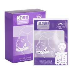 【SHINNING WAY萱薇】3D小顏面膜10片