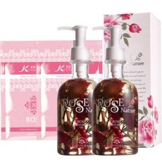 【SHINNING WAY萱薇】玫瑰香氛潤膚油(2瓶)贈送:凱茵庭玫瑰萃取面膜6片
