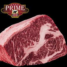 【豪鮮牛肉】頂級熟成安格斯Prime霜降沙朗牛排6片(400G+-10%/片)