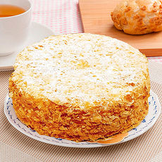 【樂活e棧】生日快樂造型蛋糕-檸檬糖霜蛋糕(320g/顆)