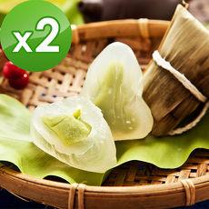 預購-樂活e棧-包心冰晶Q粽子-抹茶(6顆/包,共4包)