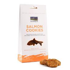 【海洋之星FISH4DOGS】全天然健康點心-鮭魚餅乾75g / 2入組