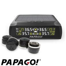 PAPAGO  TireSafe S72E無線太陽能胎外式輕巧胎壓偵測器+擦拭布
