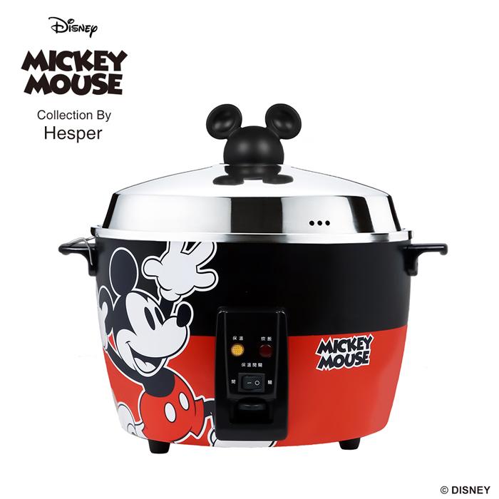 迪士尼米奇系列 11人份 304不鏽鋼電鍋-經典紅