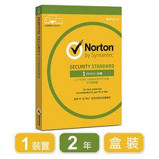 諾頓網路安全-1台裝置2年-入門版(盒裝)