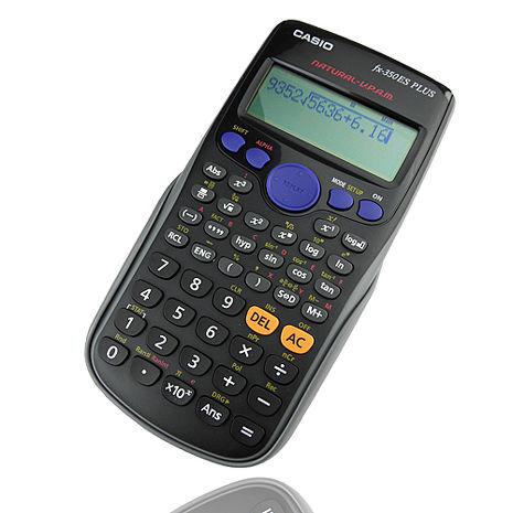 【CASIO】卡西歐新科學型直覺顯示工程計算機-AED-fx350ES PLUS