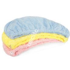 【神布開纖紗系列】輕柔開纖紗浴帽2入
