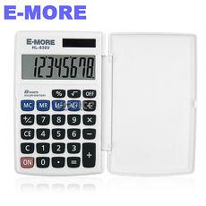 【E-MORE】旅遊型攜帶計算機-白 HL-830V