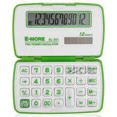 【E-MORE】蜜糖國家考試專用袖珍計算機-綠 SL-201