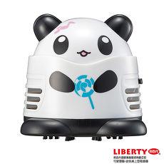 【LIBERTY利百代】棒棒糖熊貓-迷你桌上型吸塵器