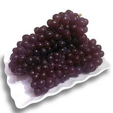 果之家 日本島根極品御用L無籽珍珠葡萄(5-7串/1kg)