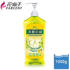 獨家特殺【花仙子】茶樹莊園-茶樹檸檬超濃縮洗碗精1000g-3入