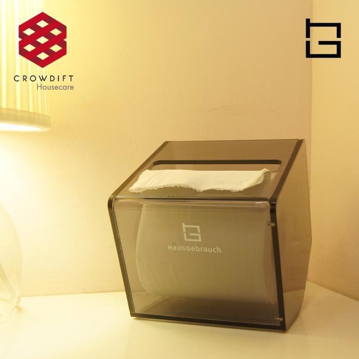 面紙盒∣HG五面壓克力面紙盒
