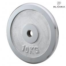 【BLADEZ】電鍍槓片 10KG(一入)