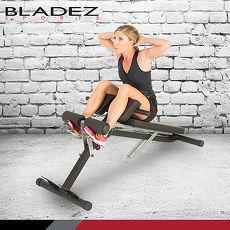 【BLADEZ】FITNESS REALITY 多功能腹/背伸展羅馬重訓椅 F2860