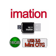 Imation USB 3.0 Mini OTG 16GB【2入特賣】