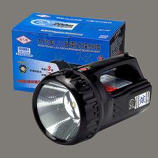 【威電WEITIEN】LED充電式手電筒 - WT-169