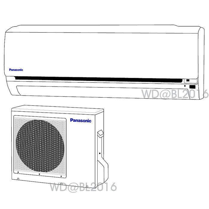 夏末出清★Panasonic 國際牌 J系列 8~9坪變頻一對一分離式冷氣 (CS-J50VA2/CU-J50VCA2) ★含標準安裝+舊機回收
