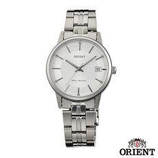 ORIENT東方錶 風格簡約藍寶石石英女錶-銀x32mm FUNG7003W0