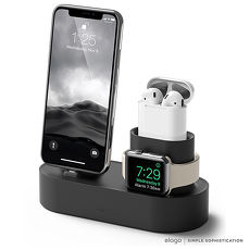 elago Apple 3合1充電座 - 整合iPhone / AirPods / Apple Watch